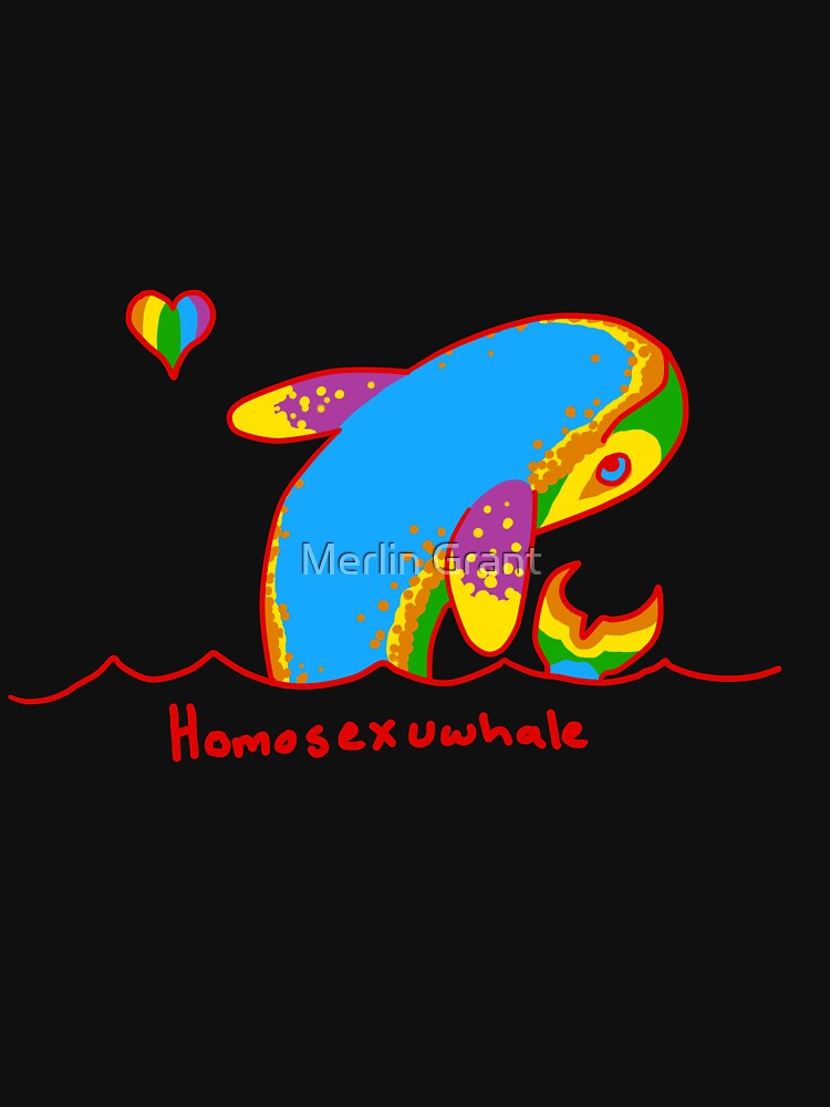 Original Homosexuwhale by starlightify