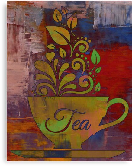Tea Time - Art Print by avalonmedia
