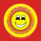 Kindness Makes The World a Better Place - Yellow Card by RippleKindness