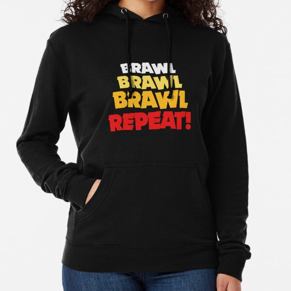 Brawl, Brawl, Brawl, Repeat! Graphique Supercell Stars Brawl Cool Sweat à capuche léger