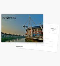 Millennium Stadium, Cardiff - Birthday Card  Postcards