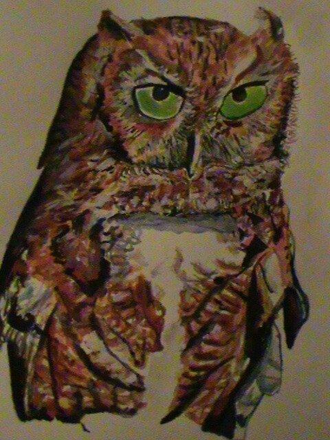 owl of power by beckalbright