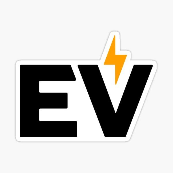 Autocollant EV Sticker