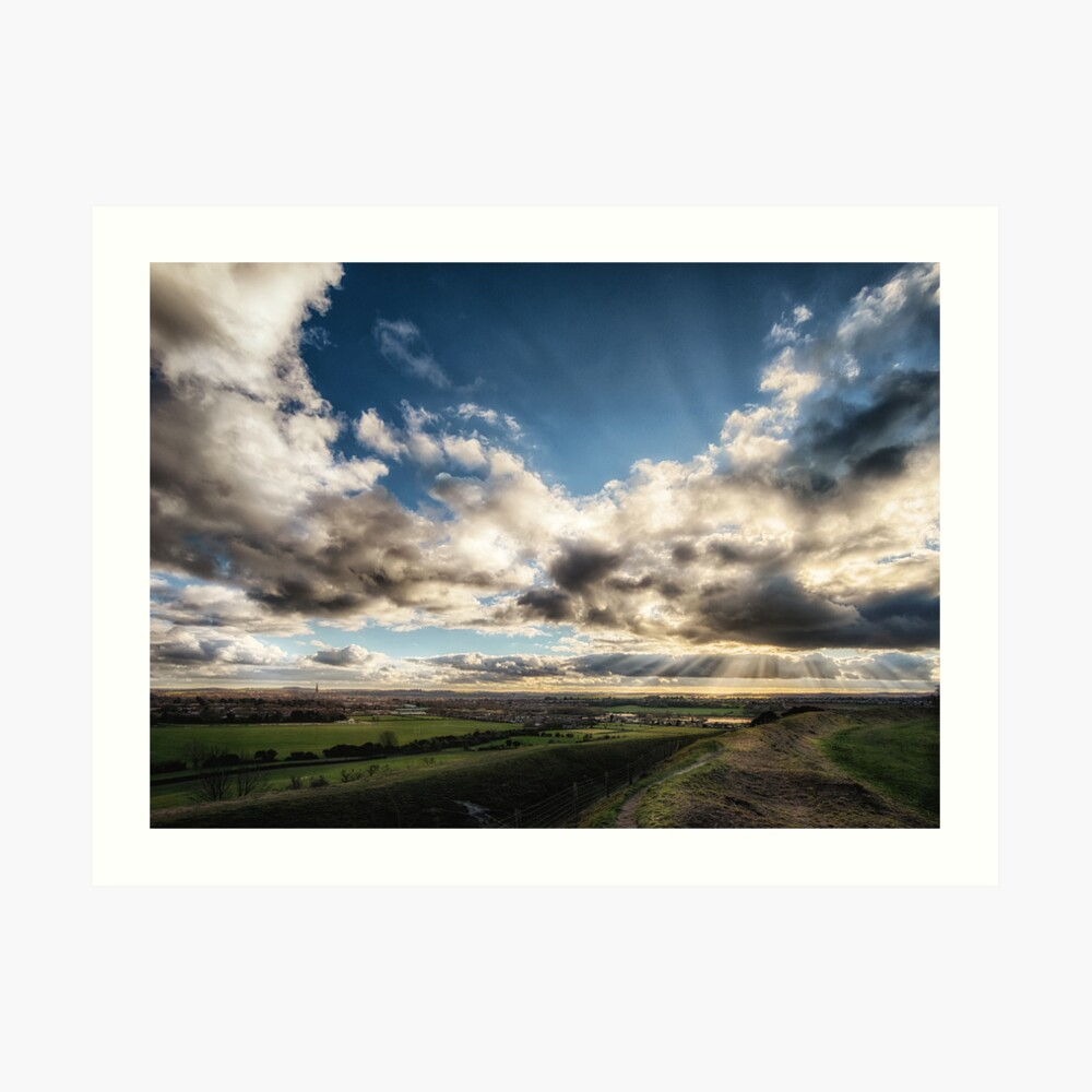 Salisbury Sunbeams Art Print