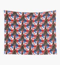 Anthony Joshua Boxing British Flag Rectangle  Wall Tapestry