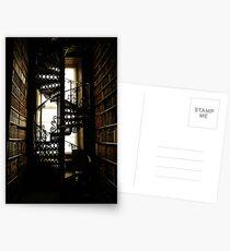 Library Staircase Postkarten