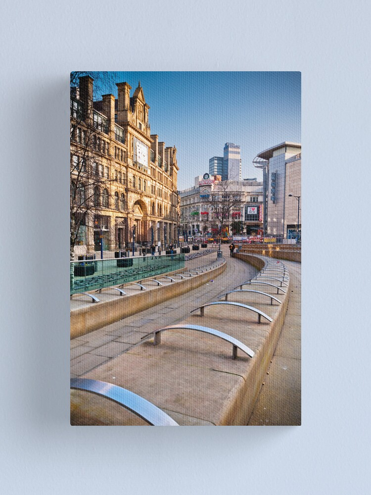Alternate view of Manchester's Corn Exchange Canvas Print