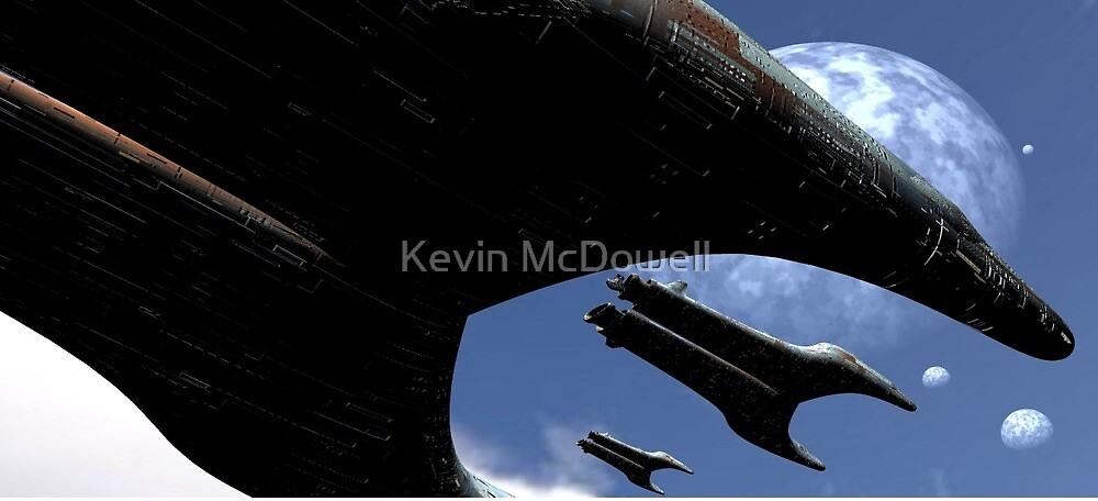 In the skies by Kevin McDowell