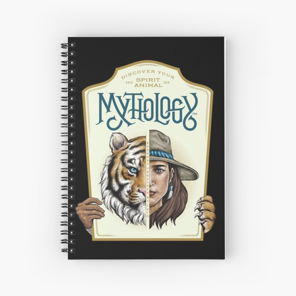 Mythology | Jungle Cat | Brought Together By Fate Spiral Notebook