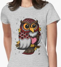 Owl Shirt Women's Fitted T-Shirt