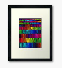 Prismatic Rainbow (Reverse) Framed Print