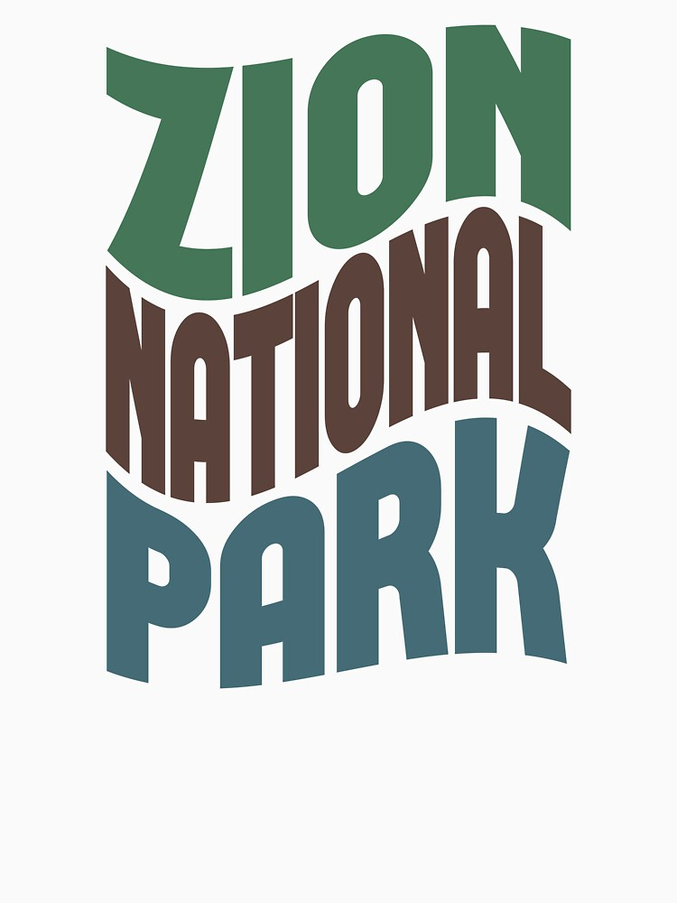 Zion National Park by LocationTees