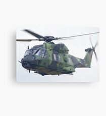 Finnish Army Helicopter Metal Print