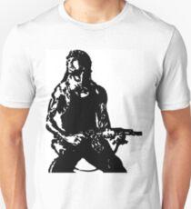 Rambo; First Blood Stencil Unisex T-Shirt