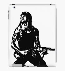 Rambo; First Blood Stencil iPad Case/Skin