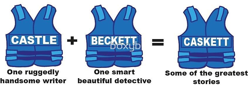 Castle + Beckett = Caskett by boxyb