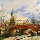 Morpeth Winter by Jan Szymczuk