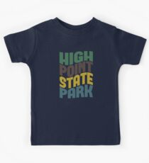 High Point State Park Kids Tee