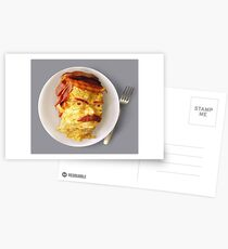 All the Bacon and Eggs Postcards