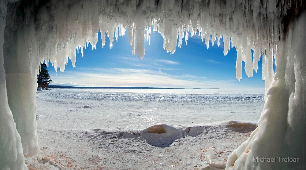 Jaws of Winter, Lake Superior by Michael Treloar