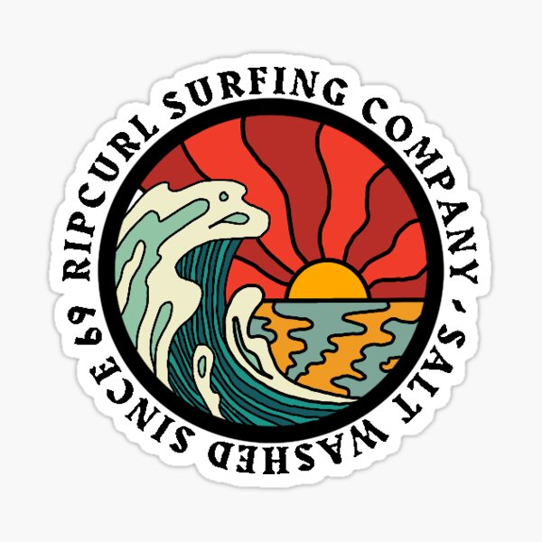 Rip Curl Surfing Company  Sticker