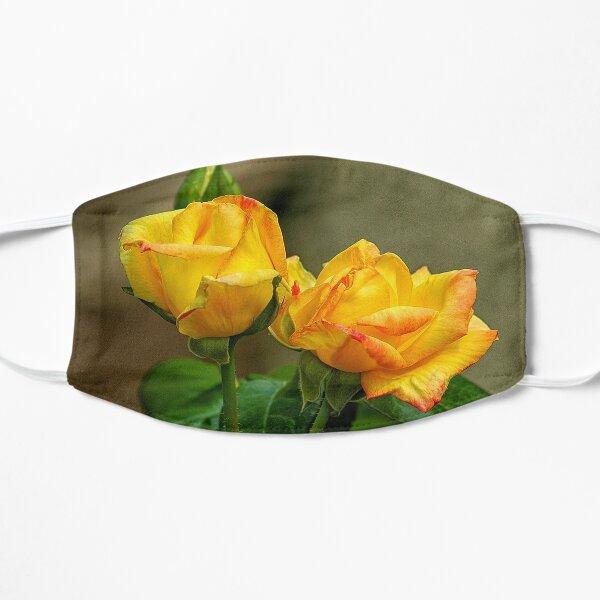 Peace Rose Twins Flat Mask