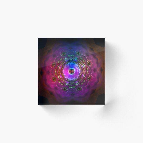 Pink Fantasy Acrylic Block