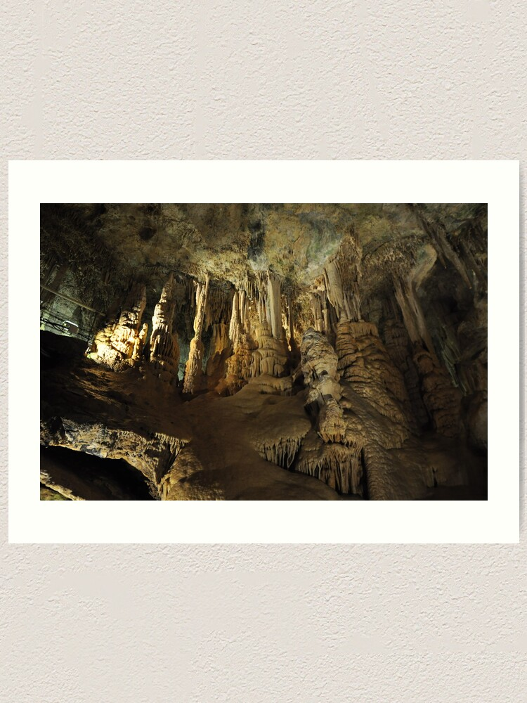 Alternate view of Inside the caves Art Print