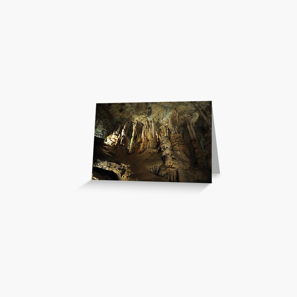 Inside the caves Greeting Card