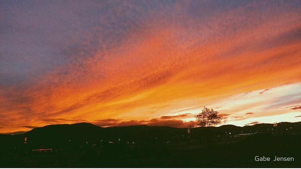 Monument sunset by Gabe  Jensen