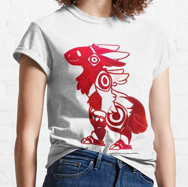 Furry Protogen red fur style , fun furry Protolution  Classic T-Shirt