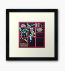 In the Wall Framed Print