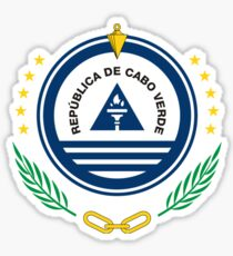 Cape Verde Coat of Arms Sticker