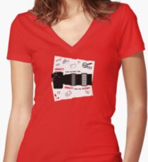 Annoy Tiny Blonde One... Women's Fitted V-Neck T-Shirt