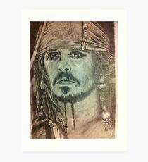 Johnny Depp - Pirates of the Caribbean Art Print