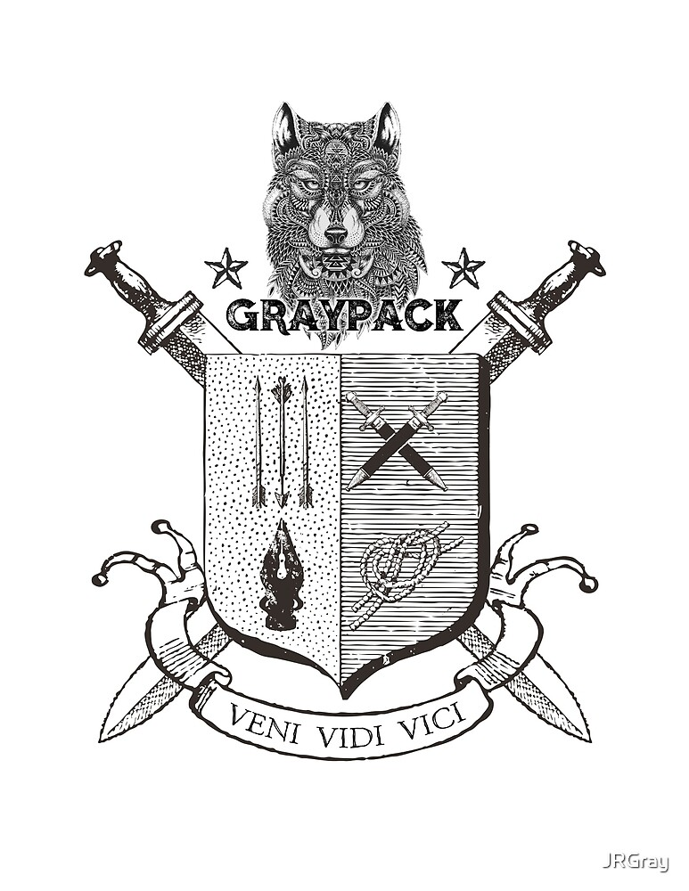 Gray Pack Back  by JRGray