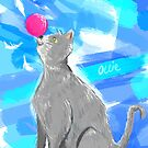 Cat Painting pt4 by Mark Padua