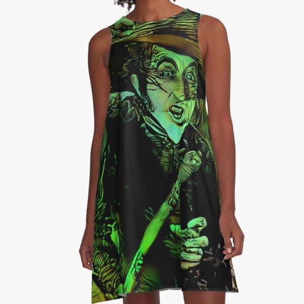 Wicked Witch A-Line Dress
