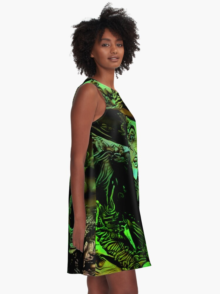 Alternate view of Wicked Witch A-Line Dress