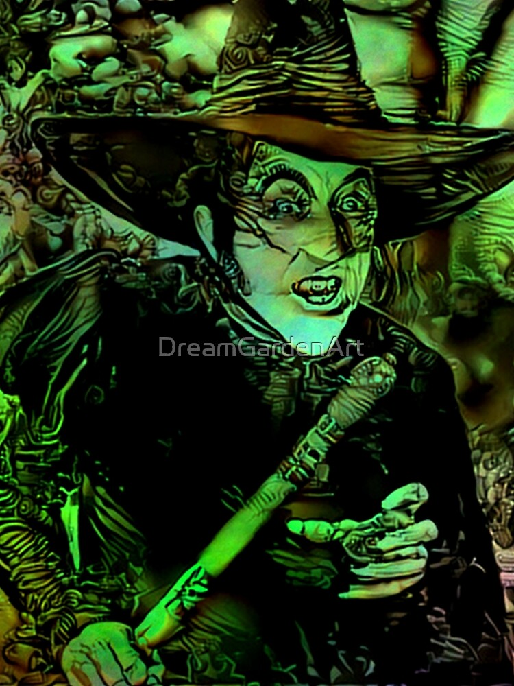 Wicked Witch by DreamGardenArt