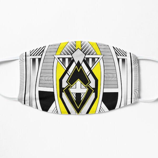 The Wasp - Art Deco Minimalist Design Flat Mask