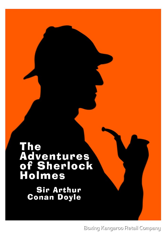 Sherlock Holmes Book Cover Art : Quot the adventures of sherlock holmes book cover by ian fox
