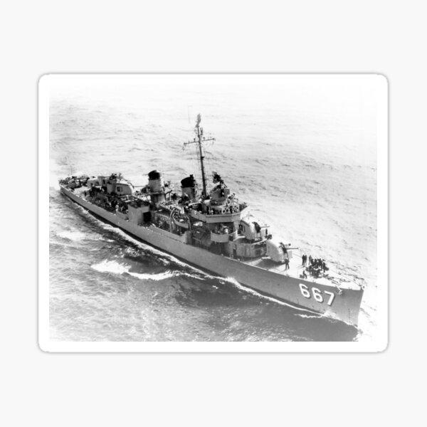 USS CHAUNCEY (DD-667) SHIP'S STORE Sticker