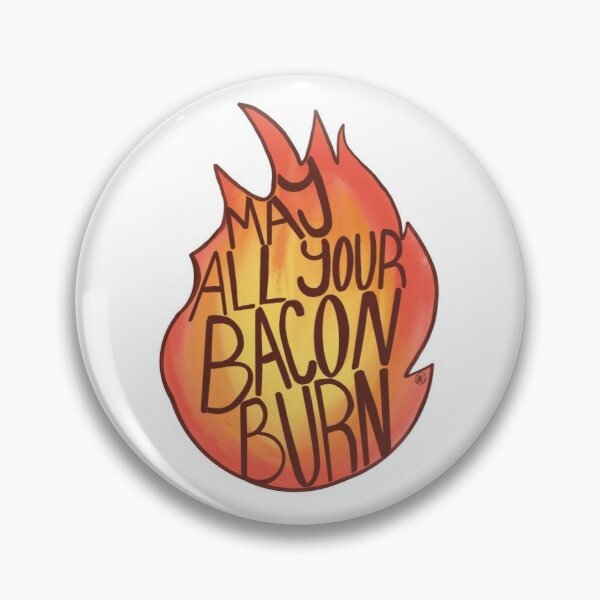 Calcifer Quote Pin