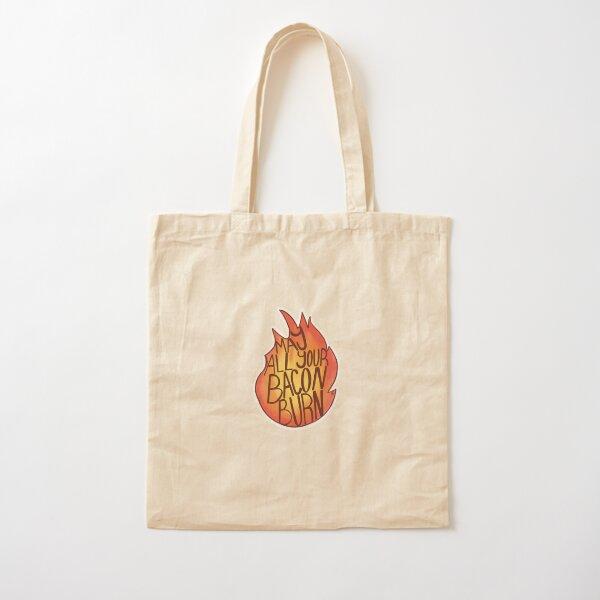 Calcifer Quote Cotton Tote Bag