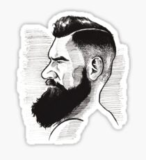 Kenny Brain - Bearded War Lord Sticker