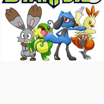 Pokemon Star Fox by lizalfos