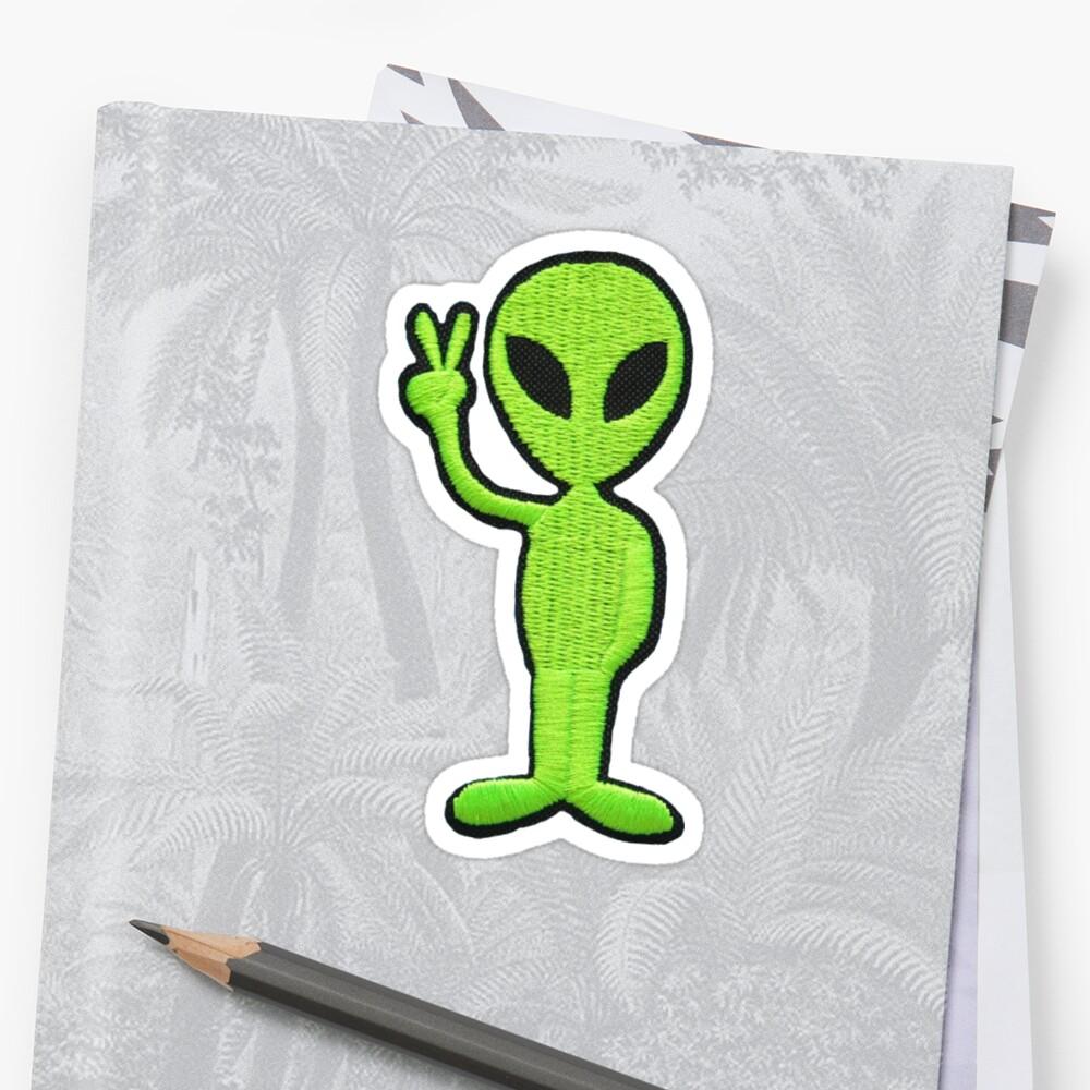 alien patch by afirelob