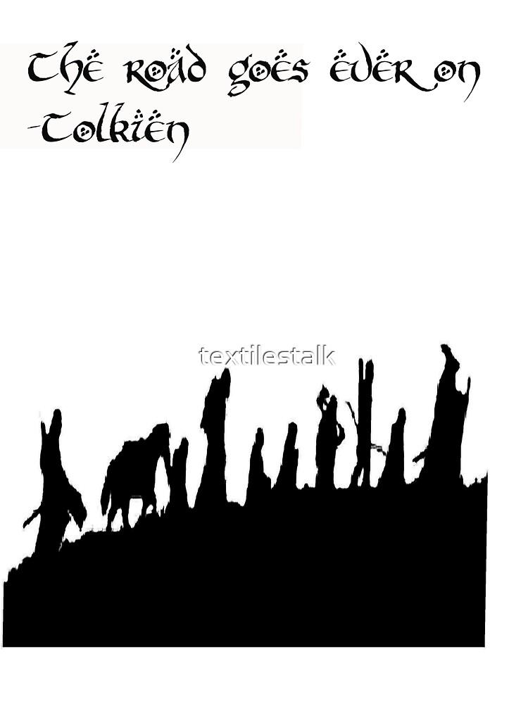 Tolkien by textilestalk