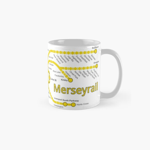 Merseyrail Network Map Classic Mug